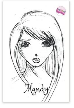Notizbuch Mandy